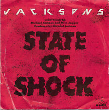 "JACKSONS "" STATE OF SHOCK ""  7"" single"