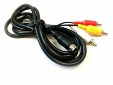 AV Video TV Cable Lead for Sega Mega Drive II 2 + III 3 Console - UK Seller NEW