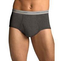 Hanes Men's 2X 7822P5 TAGLESS® ComfortSoft® Full Rise Dyed Brief w/Comfort Flex®