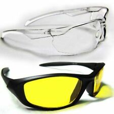 White Transparent Gog with Yellow Sunglass
