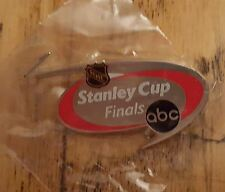 RARE 2003 STANLEY CUP FINALS ABC SPORTS MEDIA PRESS PIN NJ DEVILS ANAHEIM DUCKS
