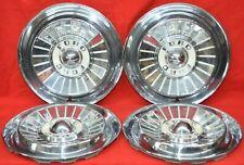 1957 Ford Fairlane Thunderbird Ranchero Hubcaps Wheel Covers 57 Set of 4