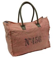 Canvas sac en bandoulière femmes Sac de courses Vintage - 456