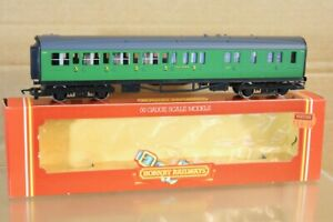 HORNBY R487 SR SOUTHERN MAUNSELL MALACHITE BRAKE 3rd COACH 6564 BOXED nw