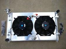 2002-2004 Aluminum Radiator&SHROUD&FANS for Holden Commodore VY 6CYL V6 03 04 MT