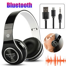 Bluetooth Wireless Noise Cancelling Headsets Headphones Over Ear Stereo Earbuds
