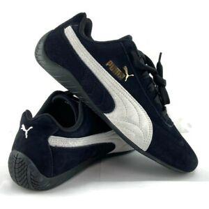 Puma Womens Speedcat OG Sparco Motorsport Shoes Black Lace Up 306794-01 Size 8