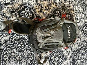 Simms Freestone Ambidextrous Tactical Sling Pack Mint Condition Fly Fishing Bag
