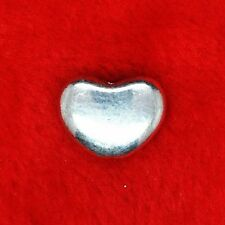 12 x Tibetan Silver 3D Love Heart Connector Spacer Finding Beading Making