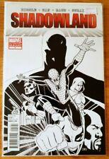 Shadowland 1 Marvel Variant 4th Print