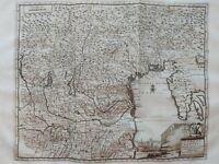 1722 Graevius Peter van der Aa Mappa Venezia Veneti Dominii Novissima Atque