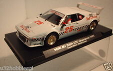 qq FLY BMW M1 IMSA GTO CHAMPION 1981 No25 RED LOBSTER LTED EDITION AUTOEXCLUSIVE