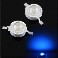 2X LED 1W azul alta luminosidad 3.4V luz 7000k SMD Azul diodos lámpara bombilla