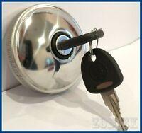 Ford Transit MK1 MK2 Locking STAINLESS STEEL Fuel Cap