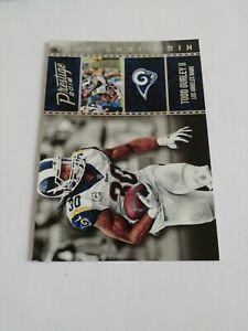 Todd Gurley Los Angeles Rams 2018 Panini Prestige Highlight Reel #HRTG NFL...
