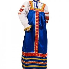 Russian Folk Costume Dress and Blouse Girls (5-6 yrs) Ethnic Traditional Dress