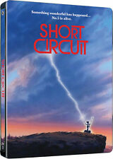 Short Circuit - Limited Edition Steelbook (Blu-ray) *BRAND NEW & SEALED*