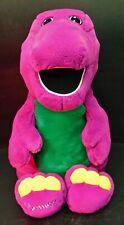 "New ListingVintage Golden Bear 24"" Plush Barney the Purple Dinosaur"