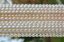 Oval1 AA Zuchtperlen Strang Süßwasser Perlen Schmuck Kette Halskette 6-7 mm neu