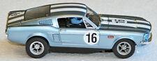 Carrera 27525 '67 Mustang fastback, blue #16