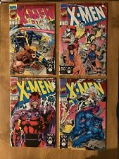 X-Men 1 1991 Lot. Four Covers!  Jim Lee!  VF/NM
