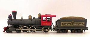 TYCO HO 4-6-0 Petticoat Junction Hooterville Cannonball Loco & Wood Tender (4)2