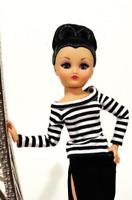 Horsman Rini Shopping Spree Dressed Fashion Doll Parisian Chic Top Skirt Shoes