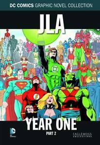 "DC COMICS GRAPHIC NOVEL COLLECTION #8 ""JLA YEAR ONE PART 2"" HC (EAGLEMOSS)"