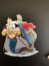 Disney Store D23 Expo 2017 Little Mermaid Ariel & Triton Designer Pin LE 1000