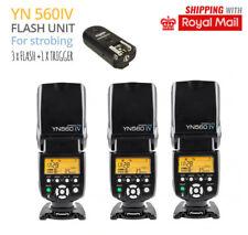 Strobing Kit 3x Flash + 1x Trigger FOR CANON 70D 80D 60D 50D 1100D 1200D 1300D
