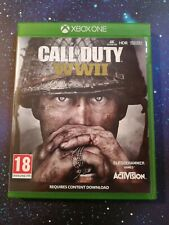 Xbox One Call of Duty Segunda Guerra Mundial