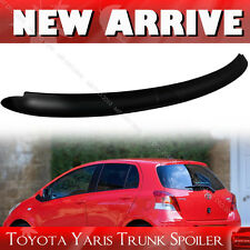 Unpainted For TOYOTA Yaris 2nd Hatchback OE Type Roof Spoiler 06-11 LE RS