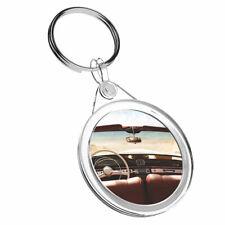 1 x Car Seaside Sunny Holiday - Keyring IR02 Mum Dad Kids Birthday Gift #14897