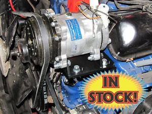 TBI CB-YCOMBO-KIT- York To Sanden A/C Conversion Kit w/V-Belt Compressor-Mercury