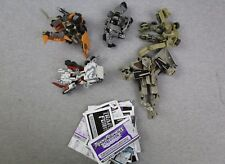 MIxed Lot of 5 Transformers 2006 Robots in Disguise RID Figures