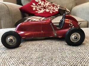 THIMBLE DROME SPECIAL TETHER CAR MAROON #5 w/ Motor