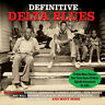 Definitive Delta Blues VARIOUS ARTISTS Best Of 75 Songs MUSIC Essential NEW 3 CD