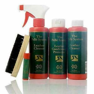 Pelle Master Kit Full Leather Furniture Cleaning System - Leather Care Kit New