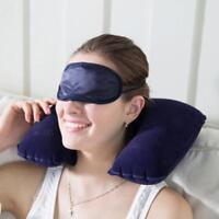 Inflatable Travel Neck Pillow Soft Air U Shape Health Pillow Sleep Head Cushion