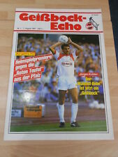 Geißbock Echo 1 FC Köln Nr.1 vom 7.08.1987 gegen 1 FC Kaiserslautern
