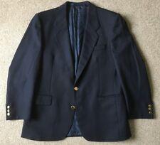BHS Mens Pure Wool Navy Blazer 40S