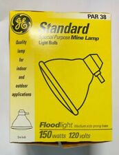 GE 150 Watt 80315 PAR 38 Special Purpose Mine Lamp NEW