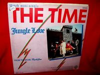 "PRINCE THE TIME Jungle Love from OST Purple Rain 12"" 45rpm GERMANY 1984 EX+"
