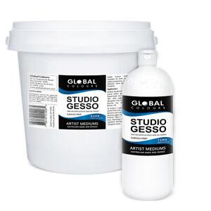 Global Colours Professional Studio Gesso