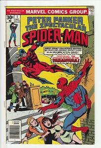 Peter Parker, The Spectacular Spider-Man #1 - Marvel Comics 1976 High-Grade