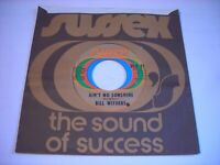 w SLEEVE Bill Withers Ain't No Sunshine / Harlem 1971 45rpm