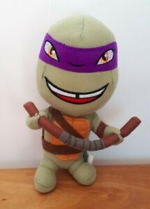 Teenage Mutant Ninja Turtles Nickelodeon Plush Donatello Soft Stuffed Toy 20CM