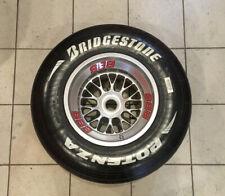 "Genuine Formula 1 Racing complete wheel with tyre 13"" BBS Bridgestone"