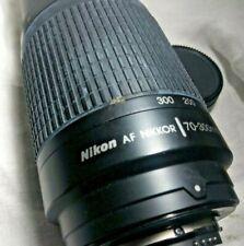 Nikon AF NIKKOR 70-300mm f/4.5-5.6E EDIF Lens