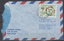 1990 UAE Cover RAS AL KHAIMA to Germany, Football [cm769]